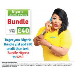Lomo Mobile £40 Bundle To Nigeria