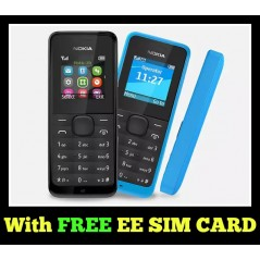 Nokia 105 2017 Unlocked with free EE SIM card