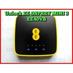 Unlock Osprey 2 Mini 3 Y850 Y853 4GEE Y854 Y855 Y854VB Y853VB EE40VB EE60VB Instantly - 100% Safe