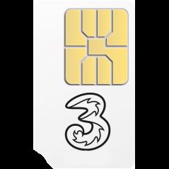 FREE 3 Mobile Pay As You Go SIM