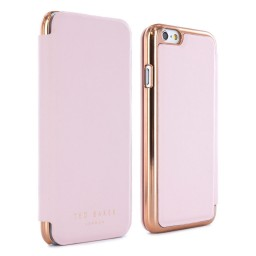 Ted Baker Women's Case for iPhone 6 Mirror Case SHANNON Nude/Rose Gold