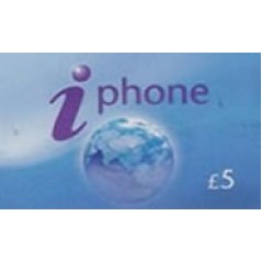 iPhone £5 International Calling Card