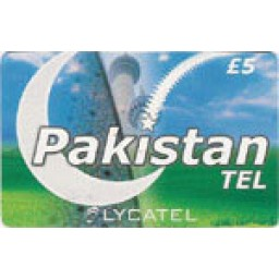 Pakistan Tel  £5 International Calling Card