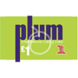 Plum £1 International Calling Card