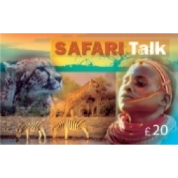 Safari Talk £20 International Calling Card