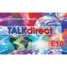 Talk Direct £10 International Calling Card
