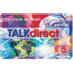 Talk Direct £5 International Calling Card