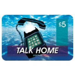 Talk Home £5 International Calling Card