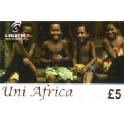 Uni Africa £5 International Calling Card