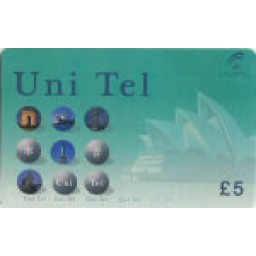 Uni Tel £5 International Calling Card