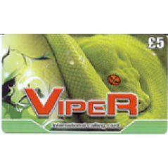 Viper £5 International Calling Card