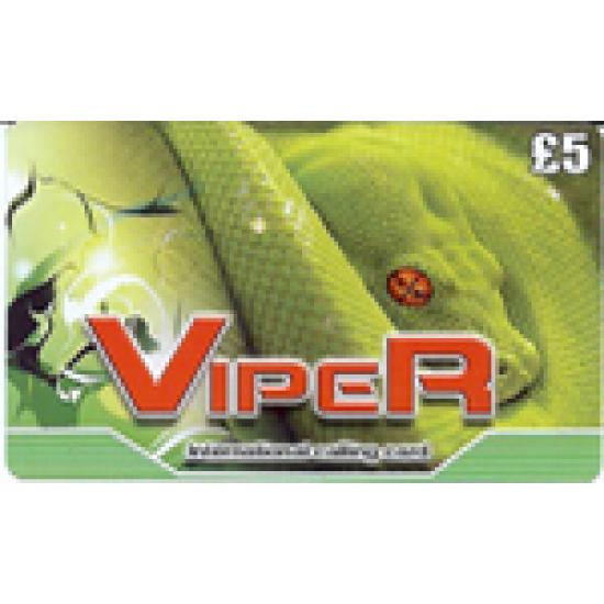 Viper £5 International Calling Card