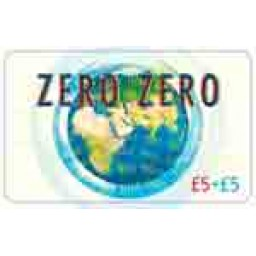 Zero Zero £5 International Calling Card