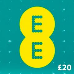 EE £20 Mobile Broadband Topup Voucher