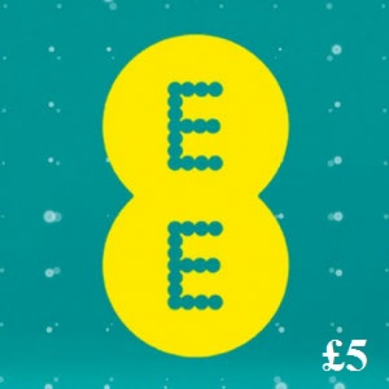 EE £5 Mobile Broadband Topup Voucher