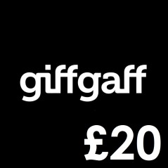 GiffGaff Mobile £20 Topup Voucher