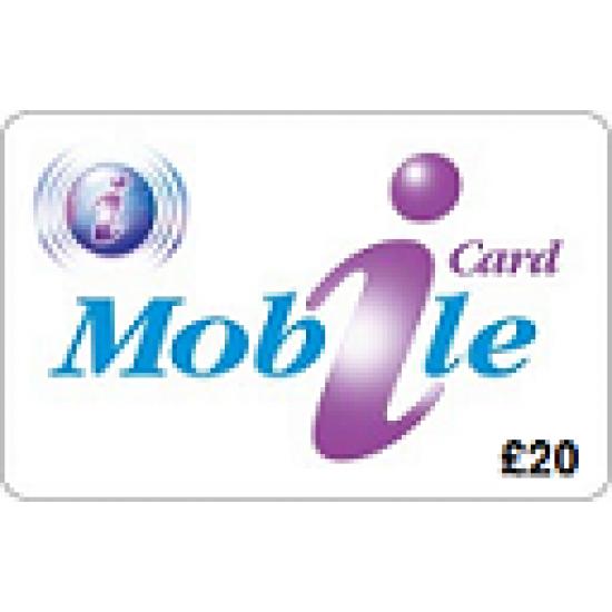 iCard Mobile £20 Topup Voucher