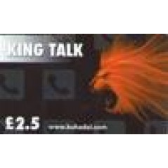 King Talk £2.5 Calling Card