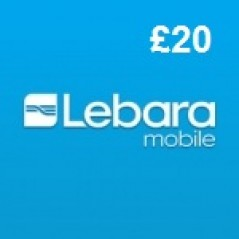 Lebara Mobile £20 Topup Voucher