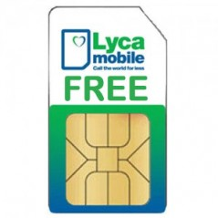 Lycamobile FREE Pay As You Go SIM Card