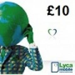 Lycamobile £10 Topup Voucher Recharge