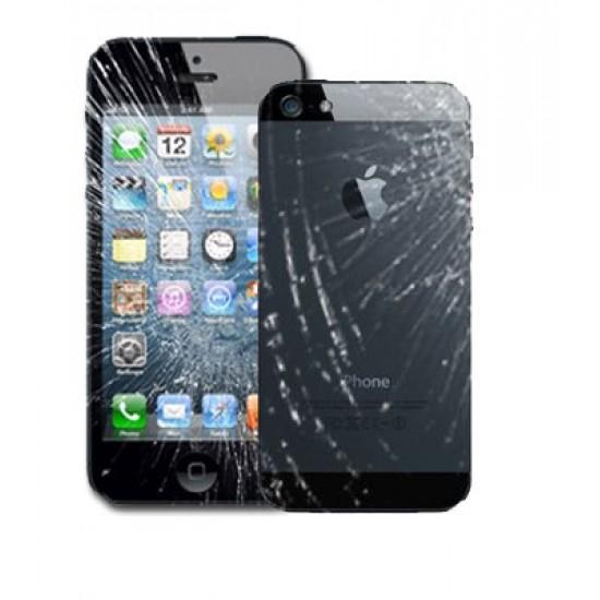 iPhone 4/4S Broken Glass + Back Repair (Both)