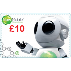 Now Mobile £10 Topup Voucher