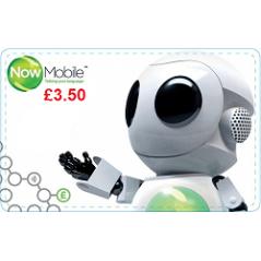 Now Mobile £3.50 Topup Voucher