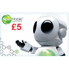 Now Mobile £5 Topup Voucher