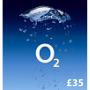 O2 Mobile £35 Topup Voucher