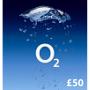O2 Mobile £50 Topup Voucher