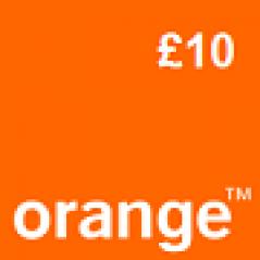 Orange £10 Topup Voucher