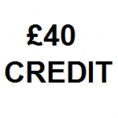 £40 Store Credit