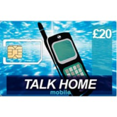 Talk Home Mobile £20 Topup Voucher
