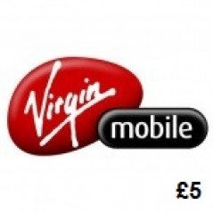 Virgin Mobile £5 Topup Voucher