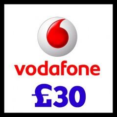 Vodafone £30 Topup Voucher