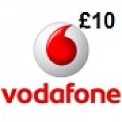 Vodafone £10 Topup Voucher