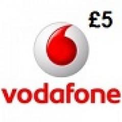 Vodafone £5 Topup Voucher