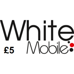 White Mobile £5 Topup Voucher