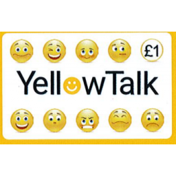 Yellow Talk £1 International Calling Card