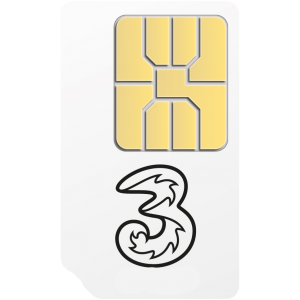 FREE 3 Mobile Pay As You Go SIM