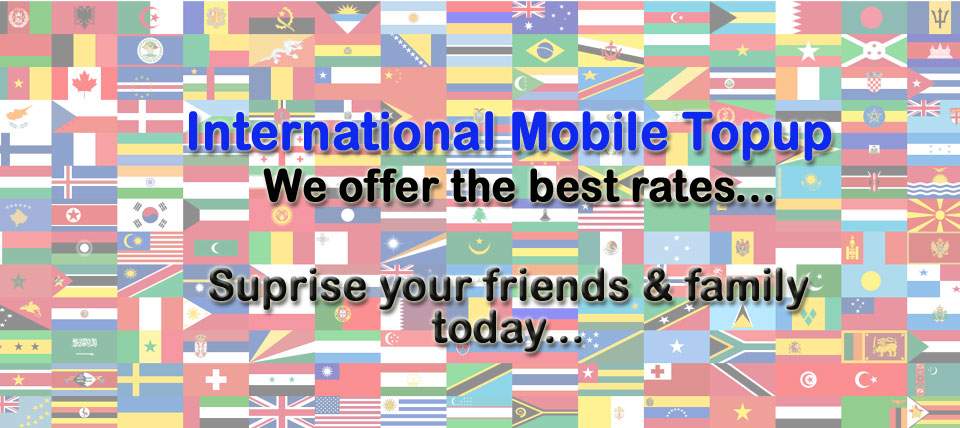 International Mobile Topup