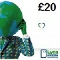 Lycamobile £20 Topup Voucher Recharge