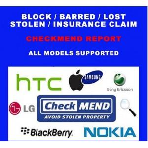 Checkmend Network Block/Stolen Check