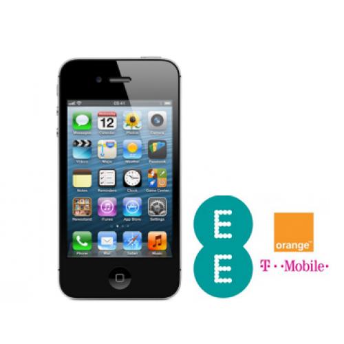 iPhone 4S/4/3GS/3G Unlocking - T-Mobile/Orange UK Network