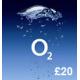 O2 Mobile £20 Topup Voucher