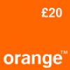 Orange £20  Topup Voucher