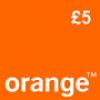 Orange £5 Topup Voucher