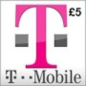 T-Mobile £5 Topup Voucher