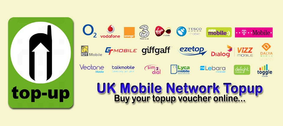 UK Mobile Topup